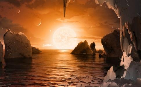 Открытие NASA: за пределами Солнечной системы – семь планет, похожих на Землю