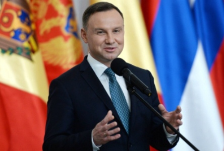 Дуда поддержал расширение НАТО и ЕС за счет Центральной и Восточной Европы
