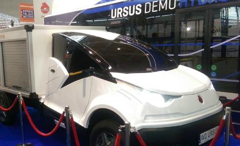 «Ursus» представил новый автомобиль – грузовой «ELVI» с электродвигателем