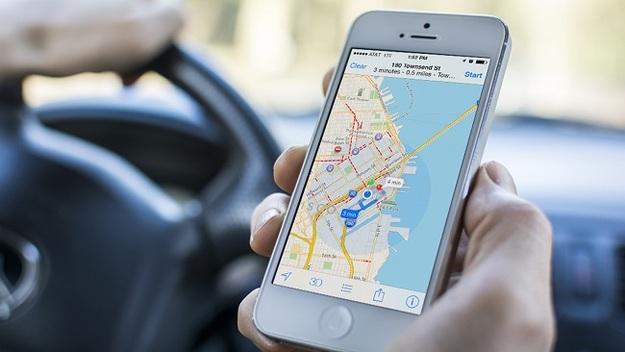 Карты Apple Maps теперь показывают пробки на дорогах Украины