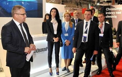 «Укроборонпром» на выставке вооружения в Польше