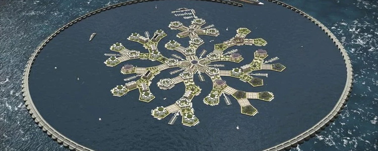 К 2020 г. планируют построить плавающий город-государство: «Хотим освободить человечество от политиков»